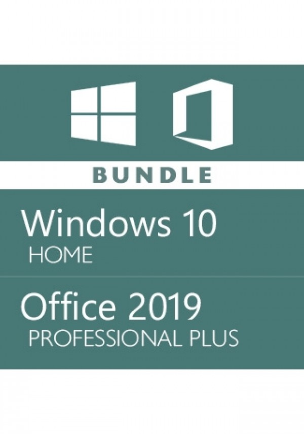 Windows 10 Home + Office 2019 Pro - Bundle
