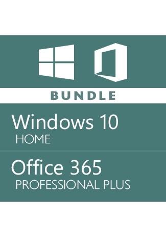 Windows 10 Home + Office 365 Account -Bundle