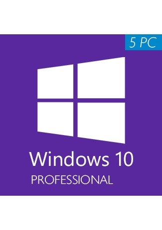 Windows 10 Professional CD-KEY (32/64 Bit) (5 PC)